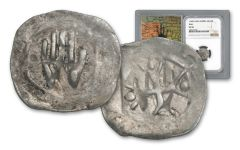 1300-1400 Austria Silver Hall Hand Heller NGC VF35