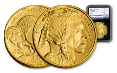 2018 50 Dollar 1-oz Gold Buffalo NGC MS69 Early Releases - Black