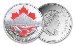 2017 Canada 20 Dollar 1-oz Silver Arctic Coast Proof Coast Series