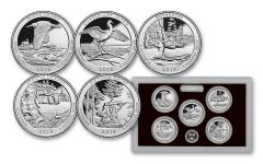2018-S America The Beautiful Silver Proof Set