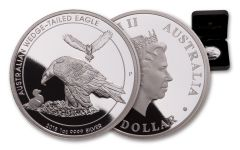 2018 Australia $1 1-oz Silver Wedge-Tailed Eagle Proof