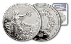 2018 Switzerland 50 Francs 25 Gram Silver Shooting Thaler NGC PF69UCAM