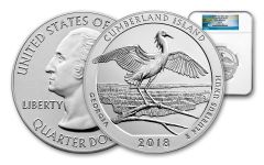 2018-P Cumberland Island National Seashore 5-oz Silver America the Beautiful NGC SP70 ER