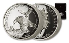 2018 Australia $8 Silver Wedge-Tailed Eagle 5-oz Silver High Relief Proof