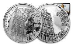 2017 Great Britain 2 Pound 1-oz Silver Landmarks of Britain - Big Ben Proof 2pc
