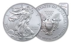 2012-(S) 1 Dollar 1 Ounce Silver Eagle Struck At San Francisco NGC MS69