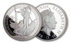 2018 Great Britain 1-oz Silver Oriental Britannia Proof