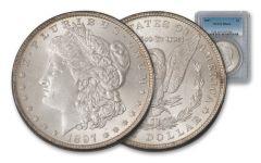 1897-P Morgan Silver Dollar NGC/PCGS MS64