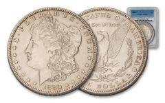 1880-P Morgan Silver Dollar PCGS/NGC MS63