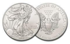 2019 $1 1-oz Silver American Eagle BU
