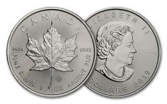 2019 Canada $ 1-oz Silver Maple Leaf BU