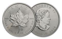 2019 Canada $ 1-oz Silver Maple Leaf BU