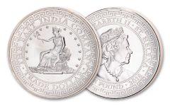 2018 St. Helena £1 1-oz Silver U.S. Trade Dollar BU