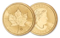 2019 Canada $50 1-oz Gold Maple Leaf BU