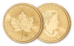 2019 Canada $50 1-oz Gold Maple Leaf BU
