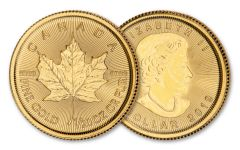 2019 Canada $1 1/20-oz Gold Maple Leaf BU