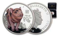 2019 Australia 50 Cents 1/2-oz Silver Baby Pig Proof