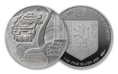 2018 Israel 1-oz Silver City of David