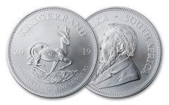 2019 South Africa 1-oz Silver Krugerrand BU