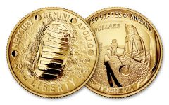 2019-W $5 Gold Apollo 11 50th Anniversary Proof