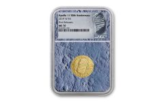 2019-W Apollo 11 50th Anniversary $5 Gold NGC MS70 First Releases