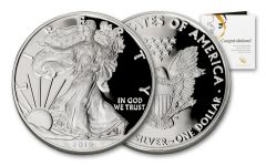 2019-W $1 1-oz Silver American Eagle Congratulations Proof