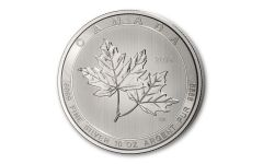 2019 Canada $50 10-oz Silver Magnificent Maple Leaf BU