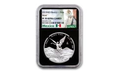 2019-MO Mexico 1-oz Silver Libertad NGC PF70UC - Black Core, Mexico Label