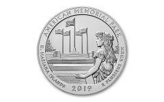 2019 America the Beautiful 5-oz Silver Quarter American Memorial Park Specimen