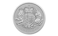 2019 Great Britain £2 1-oz Silver Royal Arms BU