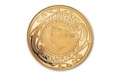 2019 New Zealand Gold Half Sovereign Proof