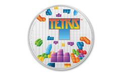 2019 Niue $2 1-oz Silver 35th Anniversary of Tetris Colorized Proof