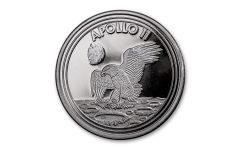 1969-2019 1-oz Silver Apollo 11 Round Gem BU