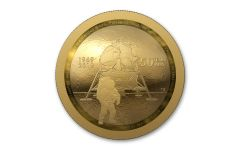 2019 Canada $100 1/2-oz Gold Apollo 11 50th Anniversary Domed Proof