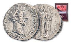 A.D. 177–192 Silver Denarius of Commodus