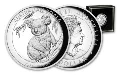 2019 Australia $1 1-oz Silver Koala High Relief Proof