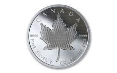 2020 Canada $10 2-oz Silver Maple Leaf Pulsating Proof