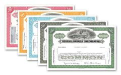 1950–1989 General Motors 5-pc Stock Collection