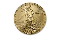 2020 $25 1/2 OZ GOLD EAGLE BU