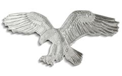 2019 Solomon Islands $2 1-oz Silver Bald Eagle Reverse Proof Shaped Coin