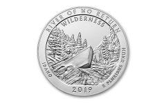 2019-P 5-oz Silver America the Beautiful – River of No Return Specimen