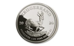 2020 South Africa 1-oz Silver Krugerrand Proof