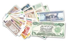 100 Different Bank Notes Collection