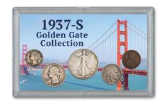 1937-S Golden Gate 5-Coin Collection