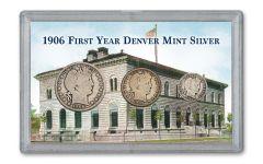 1906-D Denver Mint Collection VG