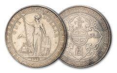 1895–1935 Great Britain Silver Trade Dollar VF