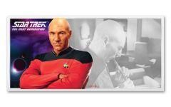 2019 Niue $1 5-gm Silver Foil Star Trek Captain Picard Coin Note