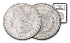 1883-O/O Morgan Silver Dollar VAM-4 NGC MS63