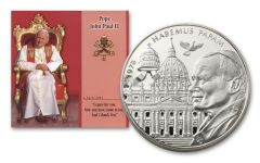 MALTA 2005  5-COIN 1 LIRA POPE JOHN PAUL CUNI SET