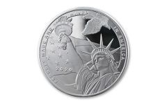 2020 1-oz Silver True Patriot Tribute Reverse Proof